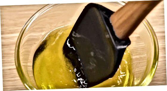 Fazendo fotos clássicas de gelatina de milho doce