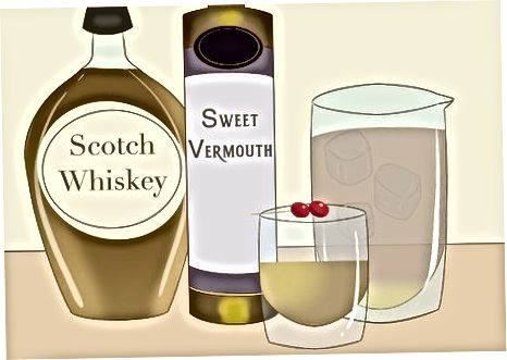 Whisky mit anderen Alkoholen mischen