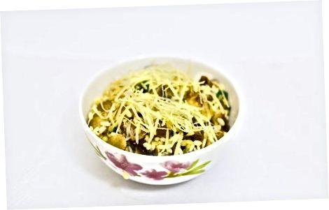 Risotto met champignons en tijm maken
