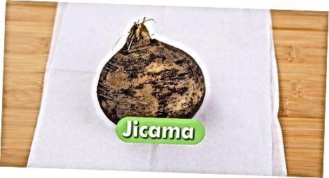 Jicama vorbereiten