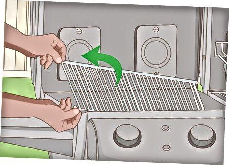 Подрібнення варильних поверхонь на газовій решітці