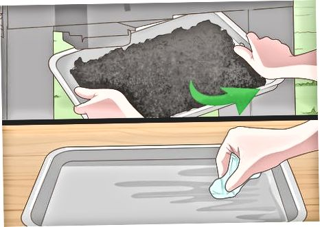 Вичищення внутрішнього корпусу газової грилі