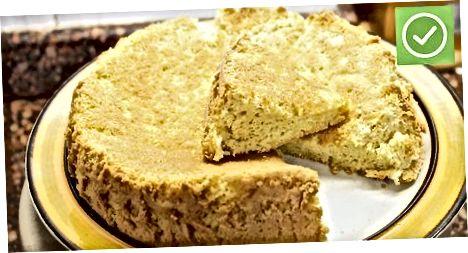 Amerikalik shimgichli kekni pishirish