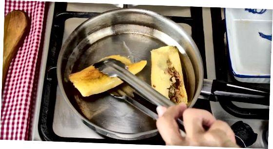 Usando um fogão