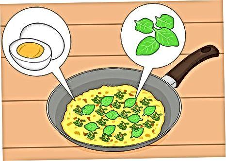 Shtimi i Chickweed i freskët në mëngjes dhe enët e drekës