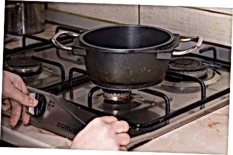 Pagrindinio braškių sirupo gaminimas