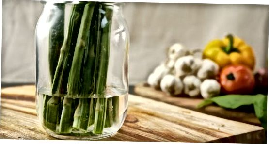 Emmagatzemar verdures a temperatura ambient