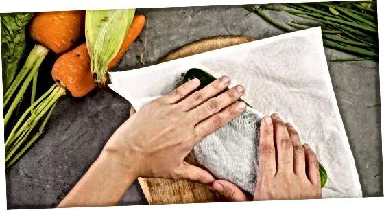 Veggies-ni muzlatgichda saqlash
