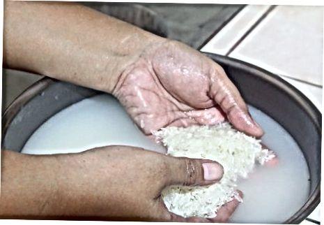 Rentant l'arròs