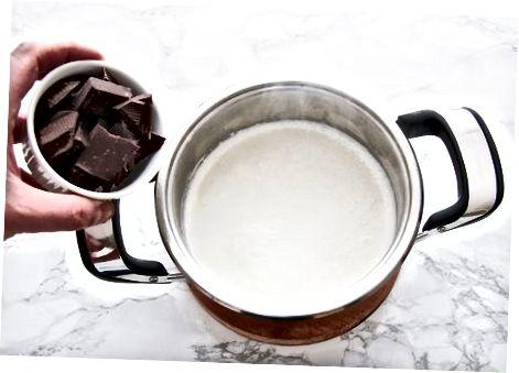 შოკოლადის დამზადება