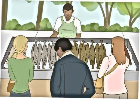 Surasti gerbiamą žuvų pardavėją