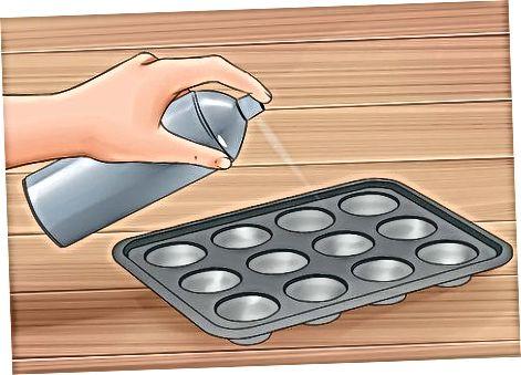 Utilitzant la bateria de cremades sobrants per fer magdalenes