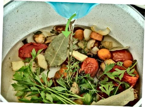 Mėsaus skrudinto daržovių sultinio gaminimas