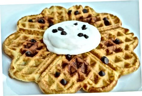Waffles tayyorlash