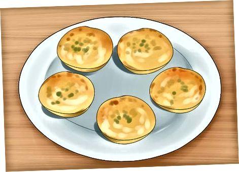Realització de Mini Quiches amb crosta sobrant