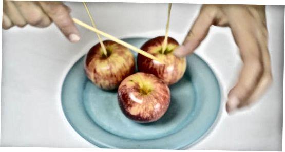 Basis karamel-appels maken
