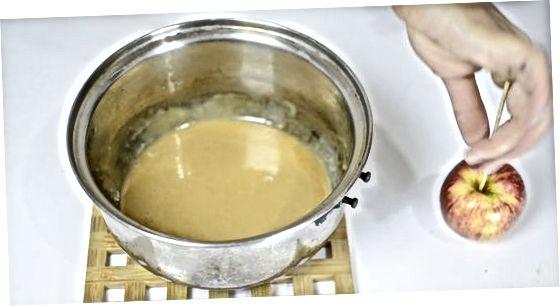 Asosiy karamel olma qilish