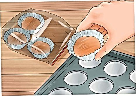 Congelació del pastís sobrant per a ús posterior
