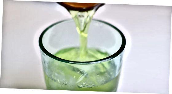 制作冷冲泡绿茶
