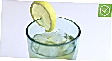 הכנת לימונדה תה ירוק
