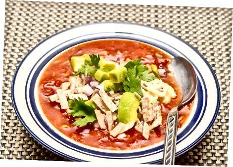 Регулировка и подача супа
