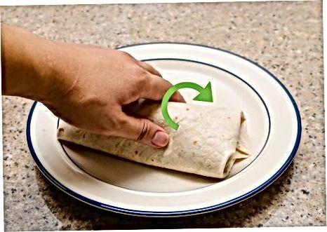 Burritoni o'rash