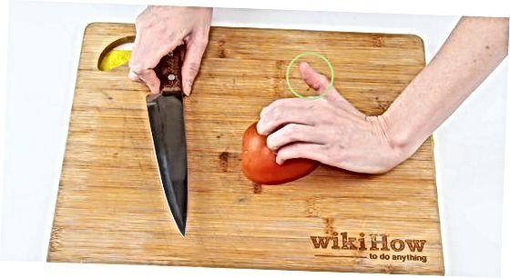 Тримання та розміщення ножа