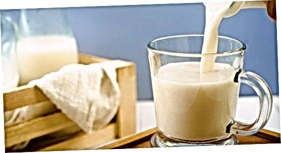 Ruajtja e qumështit të tërshërës