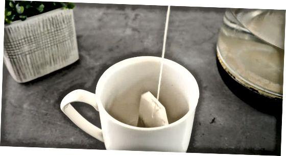 שקיות תה ירוק