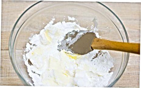 Gaminimas iš tešlos ir šaldymas
