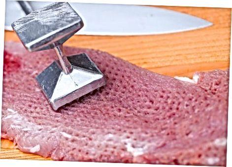 Тендірування свинини перед приготуванням