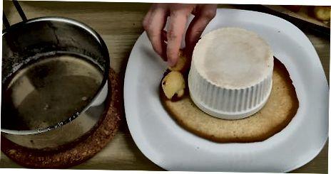 Croquembouche-ga Choux yoki Cream Puff-larni yig'ish