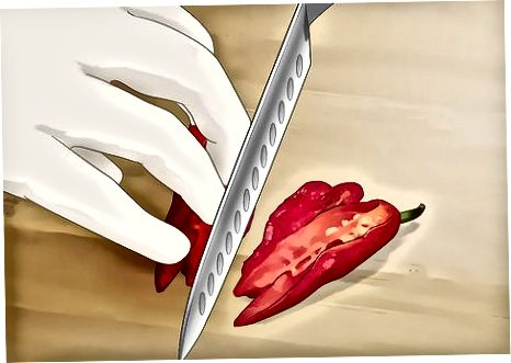 Trocknen von Ghost Peppers im Ofen