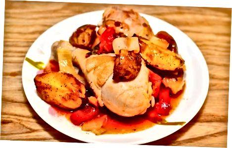 Пилећа пилетина Афритада