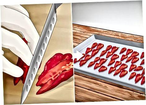 Verwenden eines Dörrgeräts zum Trocknen von Ghost Peppers