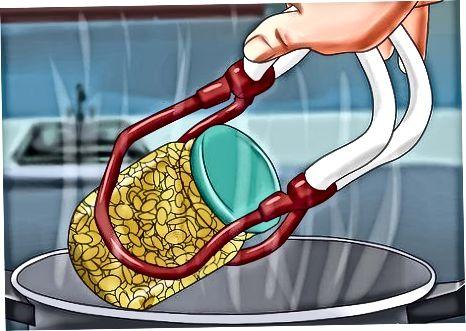 Maisi konserveerimine rõhukanneriga töötlemata paki meetodil