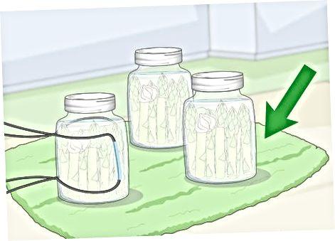 Обробка маринованої спаржі