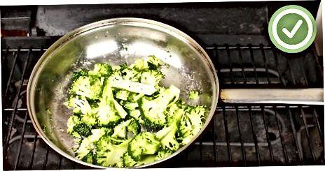 Brokkolini panada panjara qiling