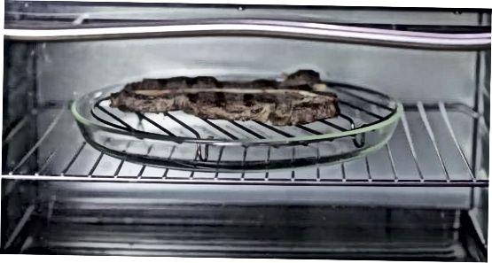 Hitið steik með hitunar- og sýrunaraðferðinni