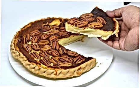 Geymsla Pecan Pie fyrir skammtímanotkun