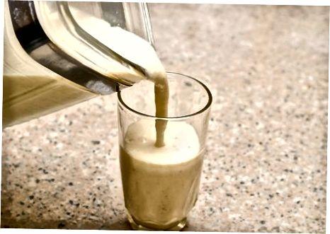 Basic Banana Oatmeal Milkshake
