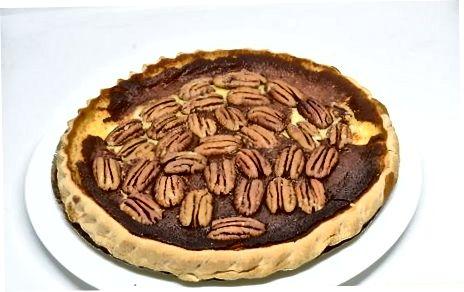 Að frysta Pecan Pie