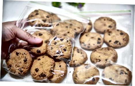 Cookie-ləri dondurmaq