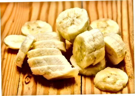 Honung Havremjöl Banana Milkshake