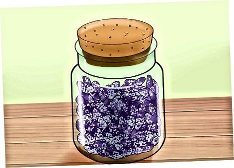 Oppbevaring og bruk av kandiserte fioler