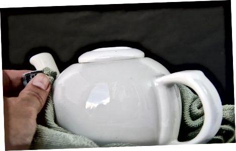 Auswahl einer geeigneten Teekanne und Zitate
