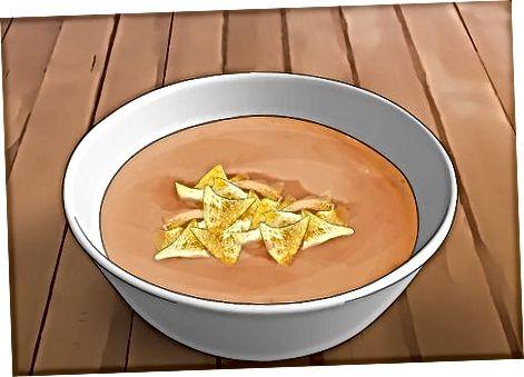 Topping Sup Anda dengan Butir
