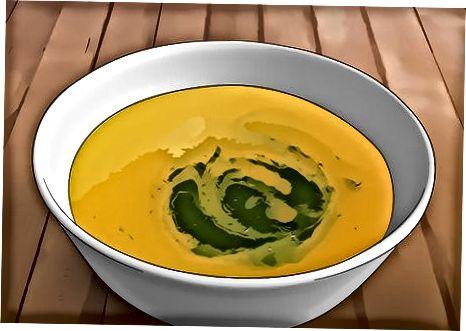آپ کے سوپ کو جڑی بوٹیوں سے ٹاپ کرنا