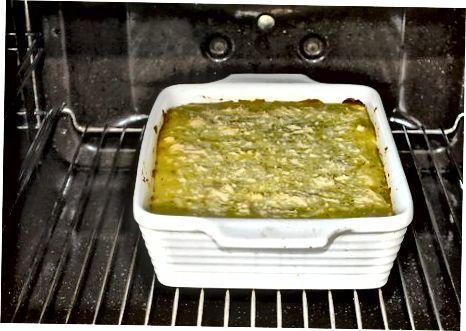 Cozinhando a torta do pastor