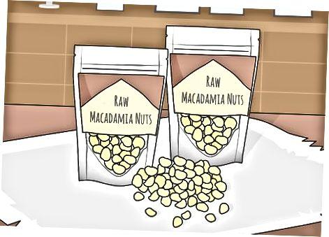 Macadamia yong'oqlarini sotib olish va saqlash